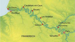 Le Havre France Map Hohepunkte Auf Der Seine Kreuzfahrt Mit Amadeus Diamond