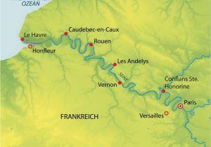 Le Havre Map France Hohepunkte Auf Der Seine Kreuzfahrt Mit Amadeus Diamond