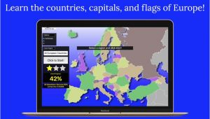 Learn Map Of Europe Europe Map Quiz App Price Drops