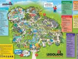 Legoland California Park Map Legoland California Map Maps Directions