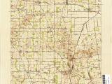 Lima Ohio Zip Code Map Ohio Historical topographic Maps Perry Castaa Eda Map Collection