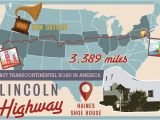 Lincoln Highway Ohio Map America S byways Sights Along some Historic and Scenic Routes