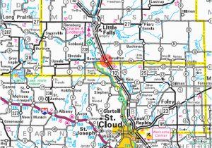 Little Falls Minnesota Map Guide to Royalton Minnesota