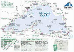 Little Falls Minnesota Map Simple Map Of Lake Superior Lake Superior Magazine