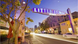 Little Italy San Diego Map What to See and Do In Little Italy San Diego