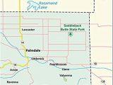 Llano California Map Amazon Com Los Angeles County Map Laminated 36 W X 37 H