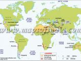 Location Of California In World Map World Deserts Map