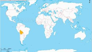 Location Of France On World Map where is Bolivia south America the Great Blank World Map Map