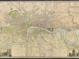 London England On the Map Fascinating 1830 Map Shows How Vast Swathes Of the Capital Were