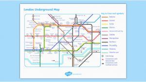 London England Tube Map London Underground Map