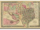 Lonesome Dove Texas Map Texas Historical Maps