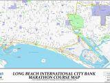 Long Beach California On Map Long Beach Marathon Guide