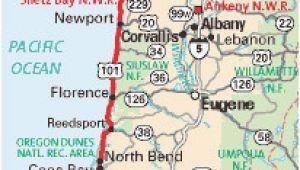 Longview oregon Map Map or oregon Coast Secretmuseum