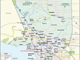 Los Angeles California On A Map Amazon Com Los Angeles County Map Laminated 36 W X 37 H