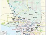 Los Angeles California Zip Code Map Amazon Com Los Angeles County Map 36 W X 37 H Office Products