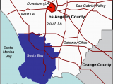 Los Angeles California Zip Code Map south Bay Los Angeles Wikipedia
