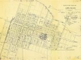 Los Olivos California Map Real Estate and town Plan for Los Olivos California Usa 1885 Old