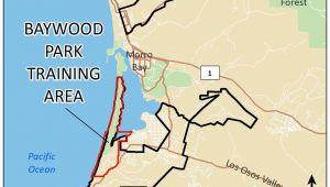 Los Osos California Map Baywood Park Training area