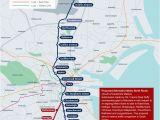 Luas Map Dublin Ireland Cllr Francis N Duffy On Twitter Metro north Proposed Alternative