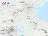 Luas Map Dublin Ireland Tramway De Dublin Wikipedia