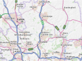 Luton England Map Welwyn Map Detailed Maps for the City Of Welwyn Viamichelin