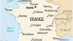 Lyon In France Map Map Of France Paris France Map Metz France France Travel