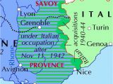 Lyons France Map Italian Occupation Of France Wikiwand