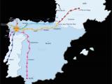 Macedonia Ohio Map Camino De Santiago Routes
