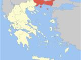 Macedonia On Map Of Europe Eastern Macedonia and Thrace Wikipedia