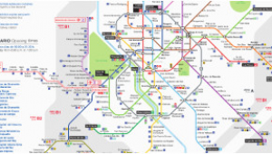 Madrid Spain Metro Map Maps and Essential Guides Of Madrid
