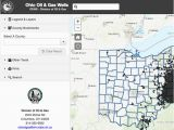 Mahoning County Ohio Map Oil Gas Well Locator
