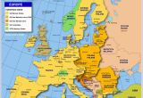 Major Cities In Europe Map Map Of Europe Member States Of the Eu Nations Online Project