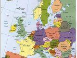 Malta On Map Of Europe Map Of Europe Maps Kontinente Europe Reisen Und Europa