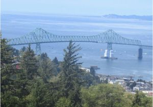Map astoria oregon View From astoria Column Of the astoria Megler Bridge astoria