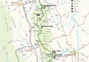 Map Boone north Carolina Blue Ridge Parkway Maps