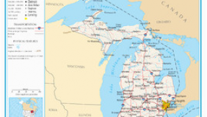 Map Cadillac Michigan Michigan Wikipedia