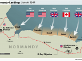 Map Caen France D Day normandy Landings Map Wwii Europe 1944 D Day