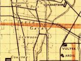 Map Downey California area Abandoned Little Known Airfields California Central Los Angeles area