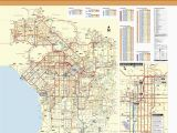 Map Downey California area June 2016 Bus and Rail System Maps