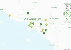 Map El Segundo California 2018 Best Los Angeles area Suburbs for Millennials Niche