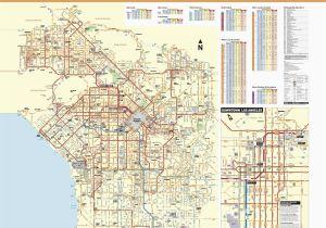 Map El Segundo California June 2016 Bus and Rail System Maps