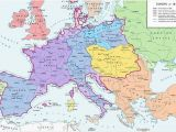 Map Europe 1812 A Map Of Europe In 1812 at the Height Of the Napoleonic