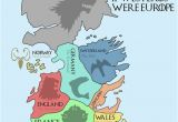 Map Games Of Europe This Map Shows the Real World Equivalents Of the Seven