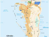 Map Gibraltar and Spain Gib is Located In Gibraltar Morocco Bound Rock Of Gibraltar