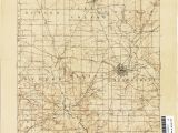 Map Holmes County Ohio Ohio Historical topographic Maps Perry Castaa Eda Map Collection