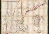 Map if New England File Telegraph and Rail Road Map Of the New England States