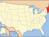 Map if New England List Of Mammals Of New England Wikipedia