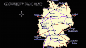 Map Italy Train Routes Germany Rail Map and Transportation Guide
