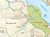 Map Lake District England Lake District Os Explorer Map Ol4 Nw Keswick Cockermouth Wigton