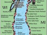 Map Lake Michigan Shoreline 32 Best Lake Michigan Vacation Images Michigan Travel Lake